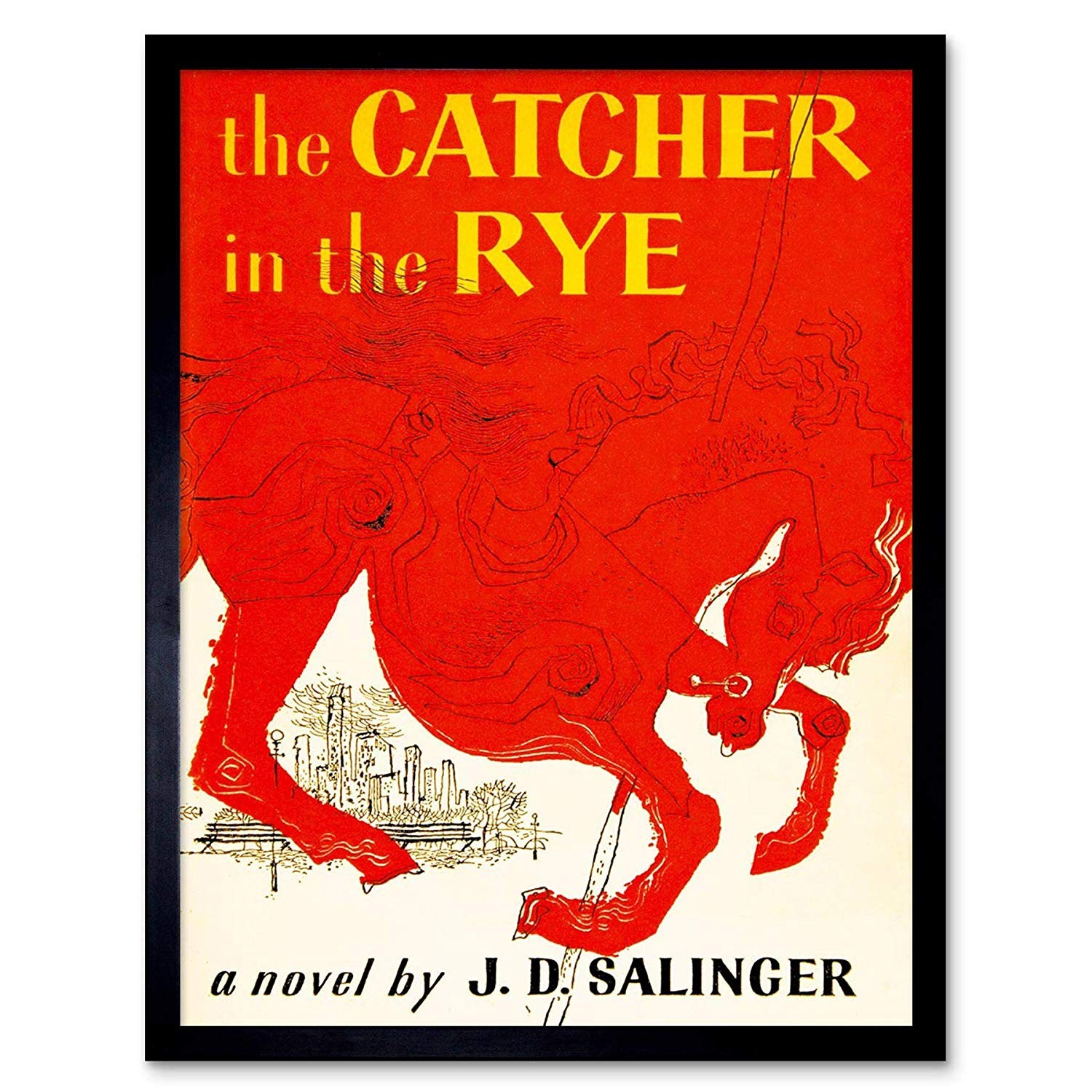 Book Cover of The Catcher in the Rye