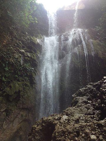 Purandhara Waterfall.
