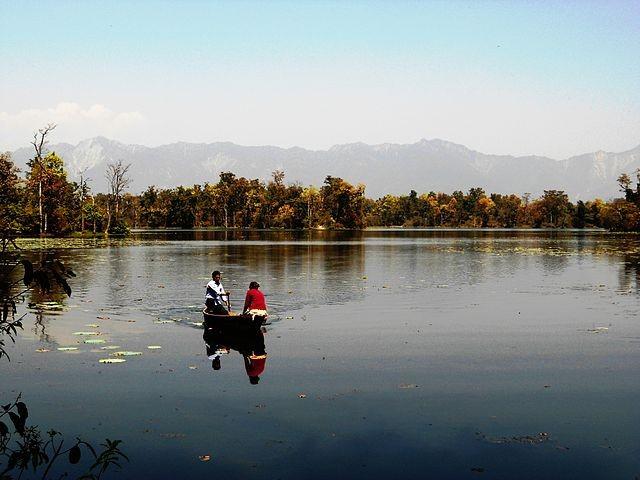 Ghodaghodi Lake.