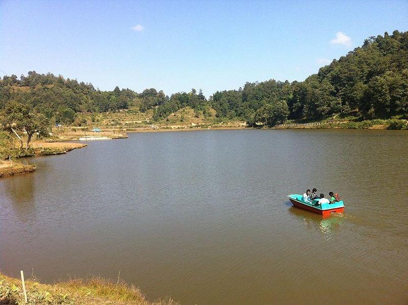 RajaRani Pond