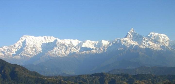 Langtang Mountain Range;
