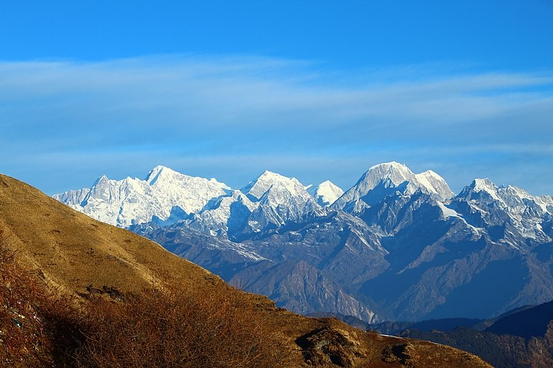 Mountains of Kalinchowk
