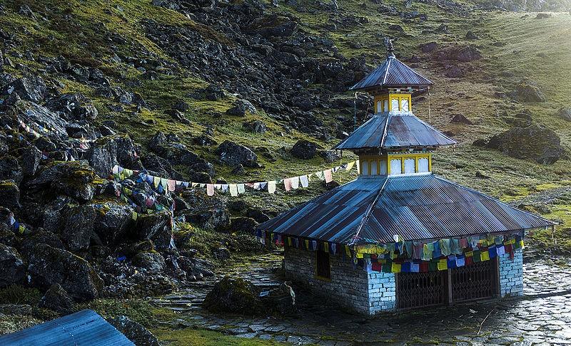 Panchpokhari temple