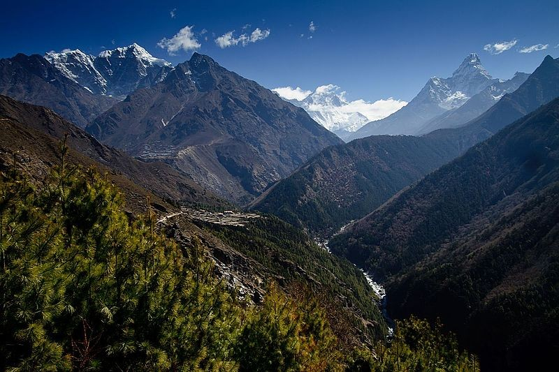 Sagarmatha National Park.