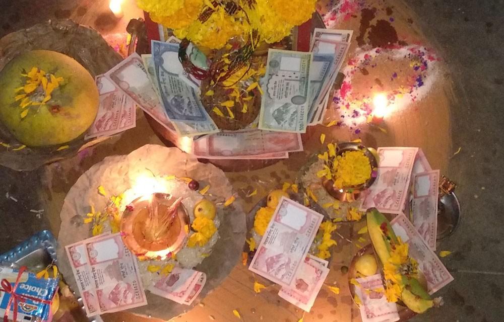 dipawali tihar celebration in nepal