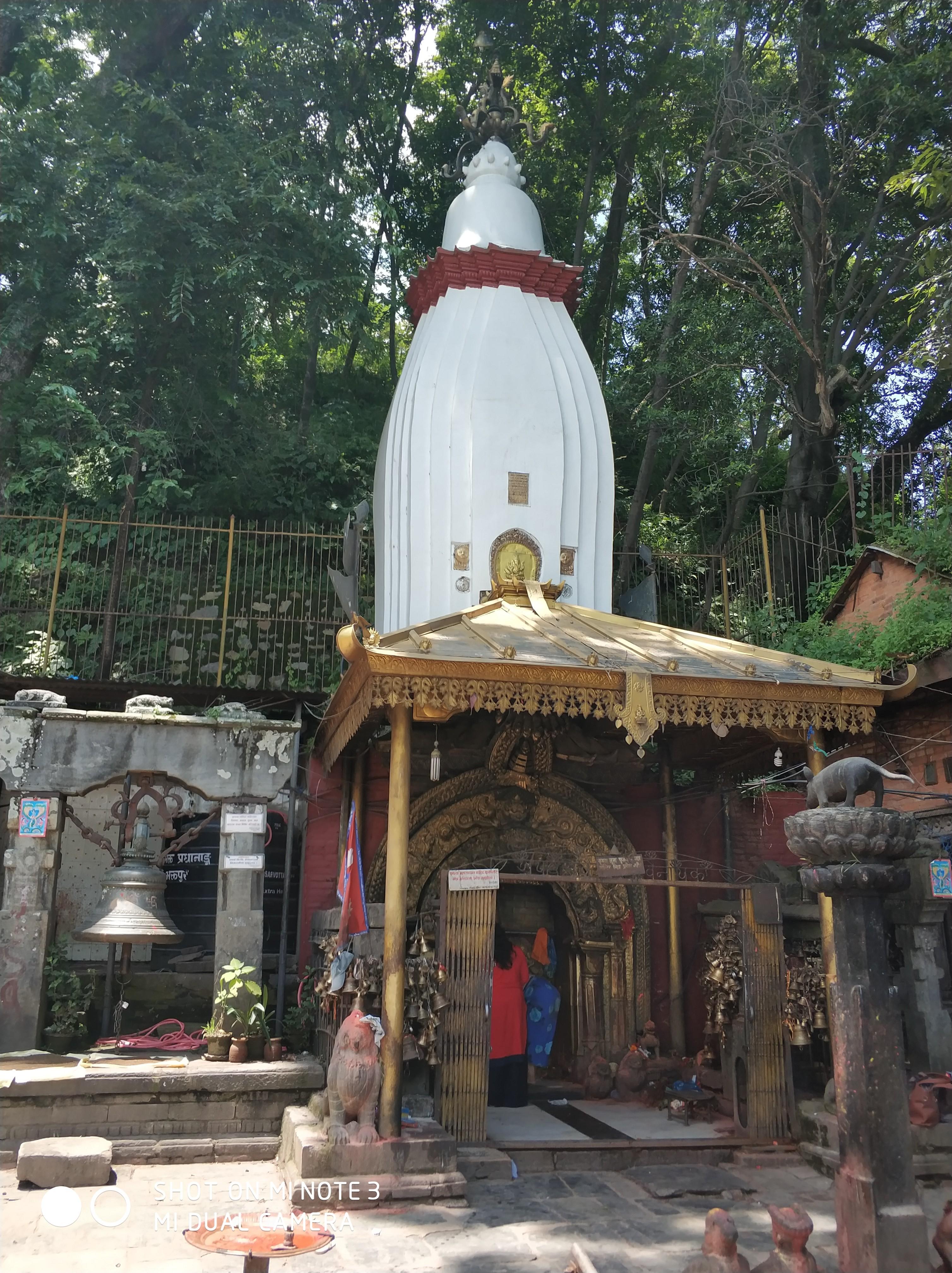 suryabinayak temple in bhaktapur